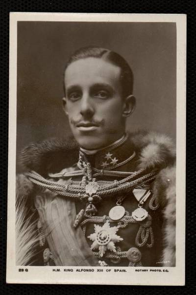 H.M. King Alfonso XIII of Spain