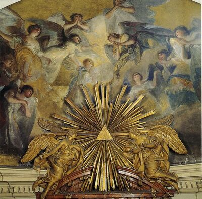Frescos de la ermita de San Antonio de la Florida. El Ábside