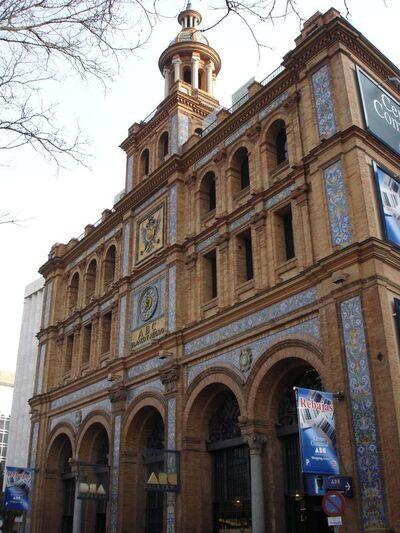 Edificio ABC-Blanco y Negro