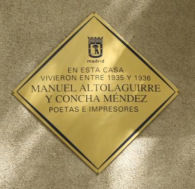 Manuel Altolaguirre y Concha Méndez