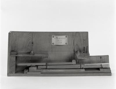 modello di meccanica di pianoforte,Marius, 1716