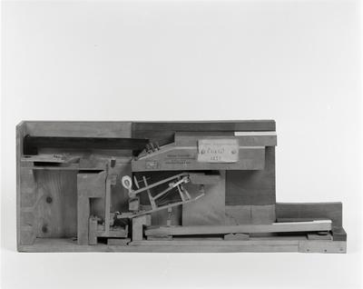 modello di meccanica di pianoforte,Erard, 1825