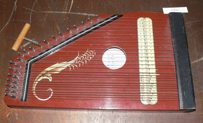Cithare Zither, modèle Gitare-Zither