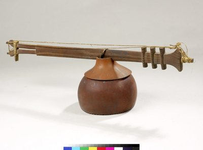Cithare sur bâton (lokanga voatavo ou dzedzu)