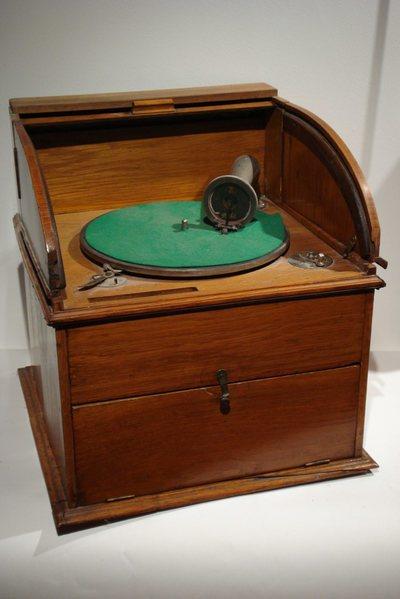 Gramophone Rideau bois