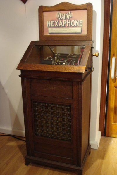 Juke box hexaphone