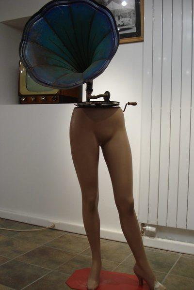 Phonographe mannequin