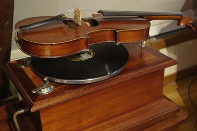 Phonographe violon