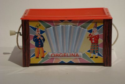 Boîte en tôle Orgelina