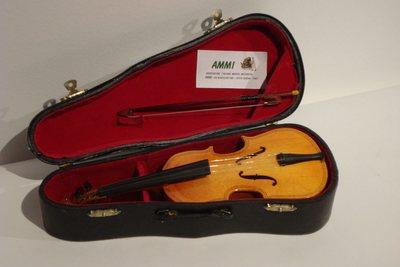 Violon miniature à musique