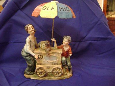 Figurine O sole mio à musique