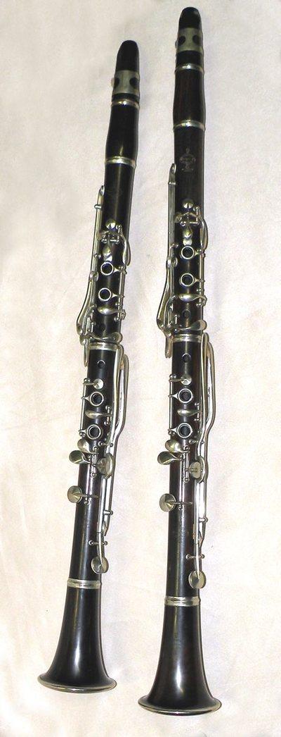 Clarinette en si b / la