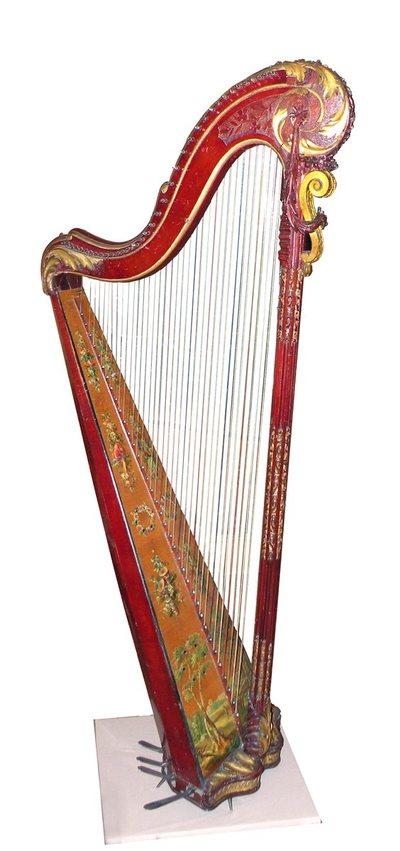 Harpe à pédales