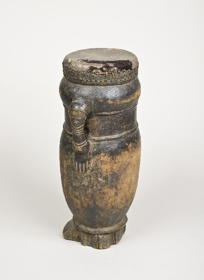 tambour en vase