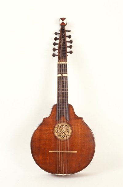 English guitar.