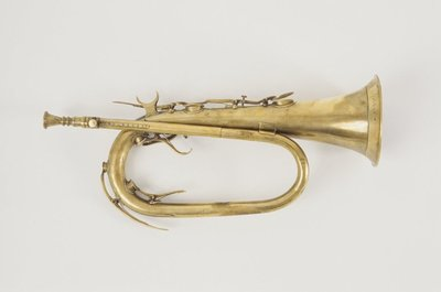 Keyed bugle. Nominal pitch: 3¼-ft E?.