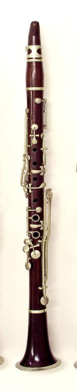 Clarinet. Nominal pitch: B?.