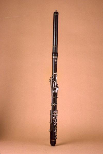 Flûte traversière basse en ré