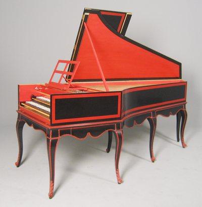 Reconstitution d'un clavecin de Jean-Claude Goujon (E.233, Musée de la musique, Paris)