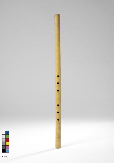 Flûte à embouchure terminale à bandeau