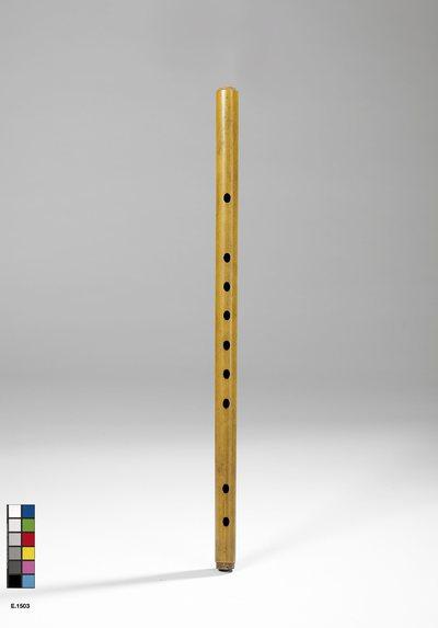 Flûte à embouchure terminale transformée en flûte à bloc et conduit d'air
