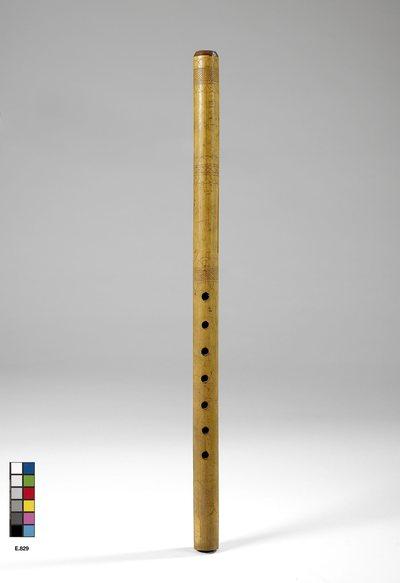 Flûte à embouchure terminale