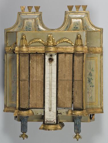 Mechanisch cilinder-draaiorgel met fluitregisters