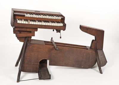 Extern klavier voor een cello