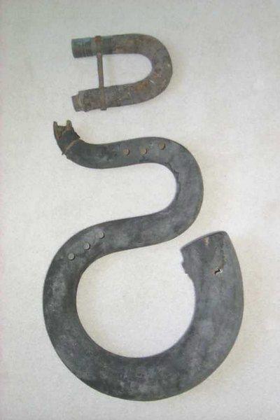 Serpent courbé d'église (Cornet)