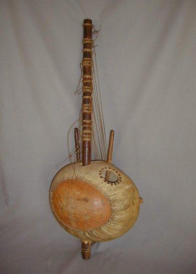 Harpe-luth Kora Soron