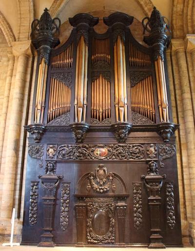 Father Smith Organ Case
