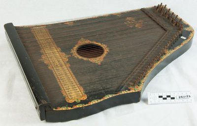 Guitar-zither