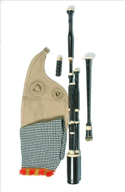 Northumbrian bagpipe