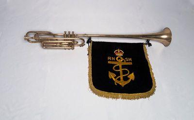 Tenor fanfare trumpet in B-flat