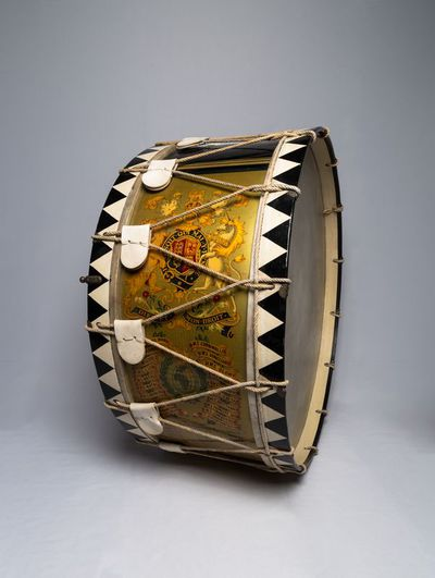 Military bass drum