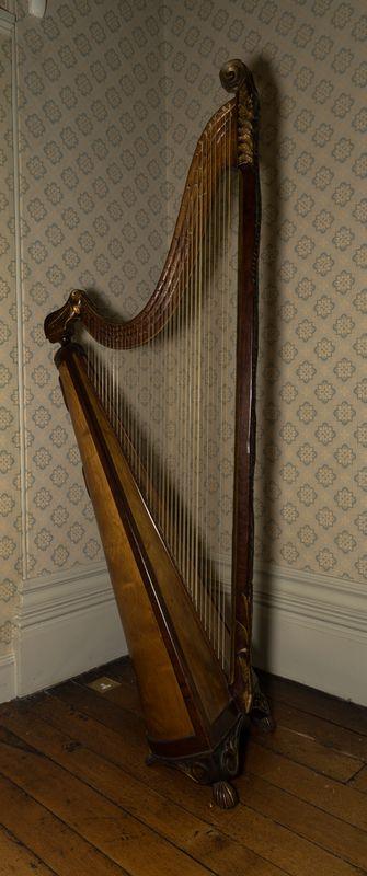 Welsh triple harp