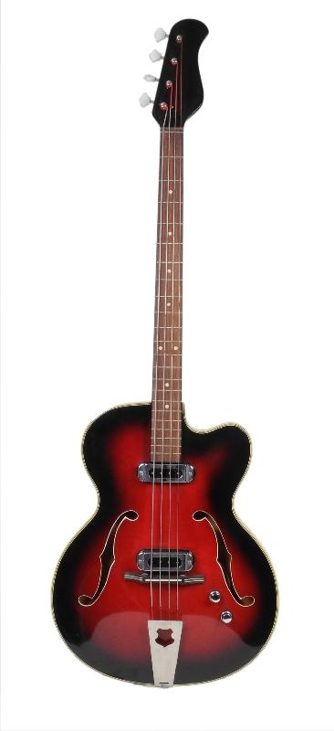 Halbresonanz-Bassgitarre