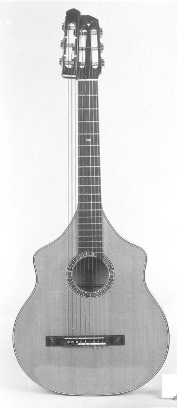 Bassgitarre in Wappenform