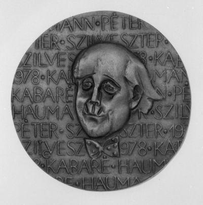 Haumann Péter portréja