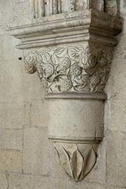 Photo of a column detail