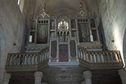 Photo of the organ from Saint Michael Romano Catholic Cathedral