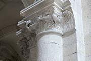 Photo of a complex capitel