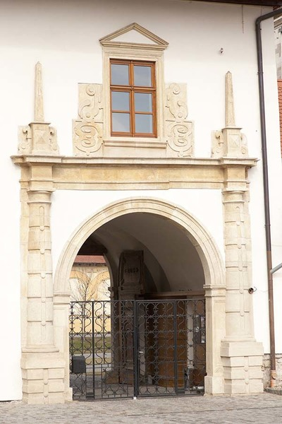 Photo of secondary entrance