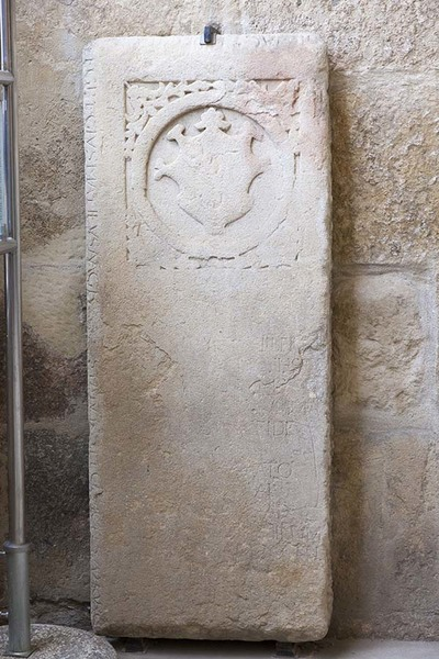 Photo of a exterior funerary stone