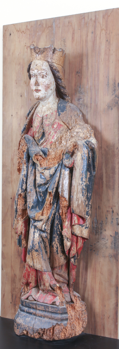 Photo of Basorelief of Virgin Mary