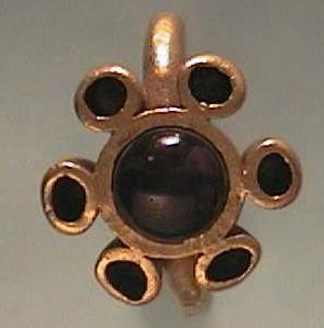 Photo of a golden ring