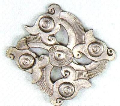 Photo of a Thracian applique
