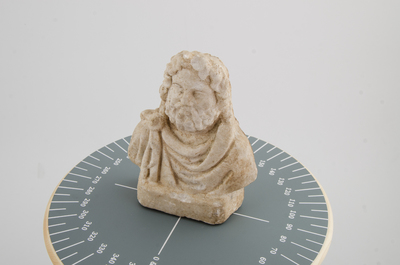 Photo of the bust of Serapis