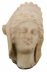 3D Model of the head of Goddess Iunona