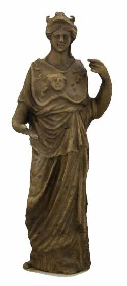 3D Model of a Bronze statuette of Minerva